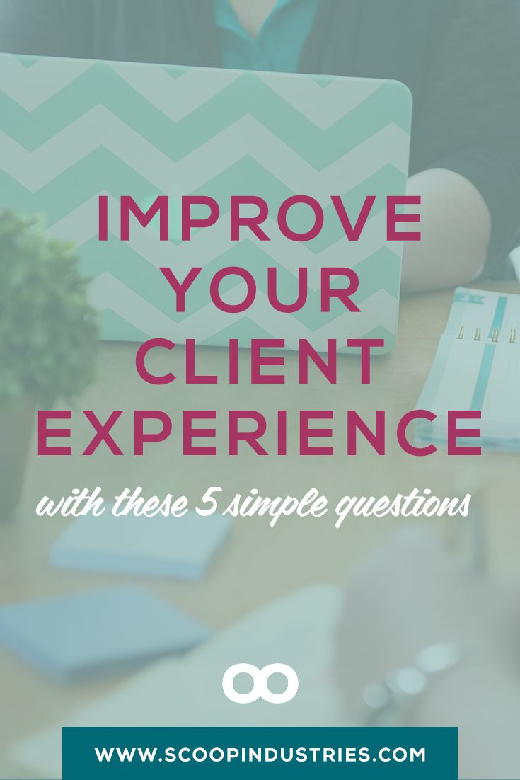 Pin this + get the 5 key questions you need to ask to improve your customer…