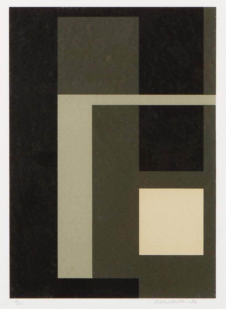 Juhana Blomstedt, grafiikka, 26x19 cm, edition 14/25 - Hagelstam A141