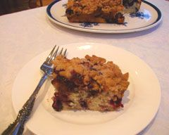 Birthday Cake for a mom who would still eat Gerber Baby Food Blueberry Buckle?