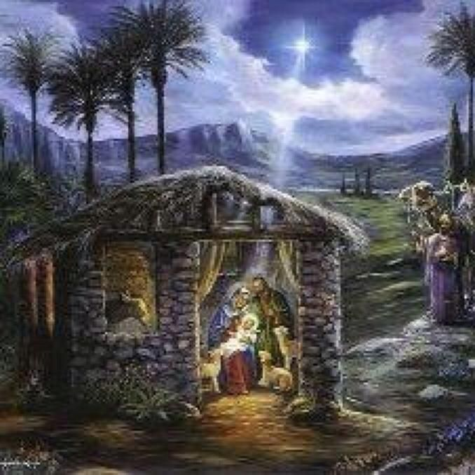 """O Holy Night : """"And there were shepherds living out in the fields nearby, keeping watch ..."""