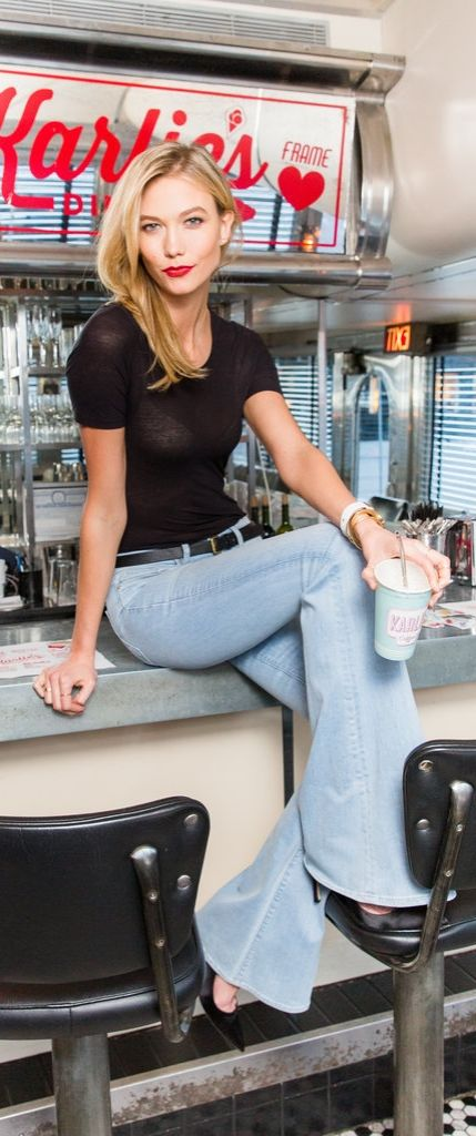 Karlie Kloss Has the Perfect Jeans For Every Tall Girl