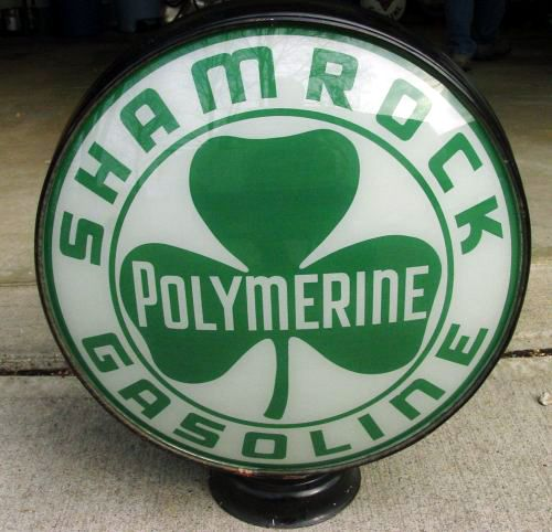 Shamrock Polymerine 1930s 15in Metal