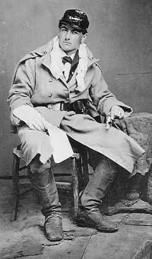 """John Johnston, the real """"Jeremiah Johnson."""" His native american wife was killed by the Crow people.He embarkd on a 12yr vendetta against the tribe. He would cut out the liver of each man he killed. This was an insult being the Crow believed by eating the liver of animals they killed they recieved its vitality.He was a sailor,union soldier in 1864 Colorado Calvery,Scout,hunter, guide, & whiskey peddler. by vilma:"""