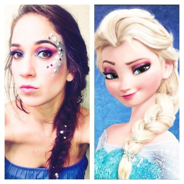 bellacostanzo19's photo on Instagram #MakeupbyCostanzo #elsa #makeup #letitgo #fantasy #disneycharacter #costume  #brunette #beunetteelsa #instagood #disneyelsa #elsamakeup #disneyprincess #frozen #icequeen #elsaedit #character #snow #princess #elsacostume #queenelsa #powers #disney #olaf #halloween