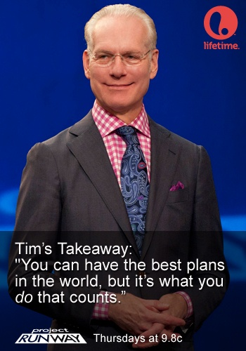 Tim Gunn #ProjectRunway #MakeItWork