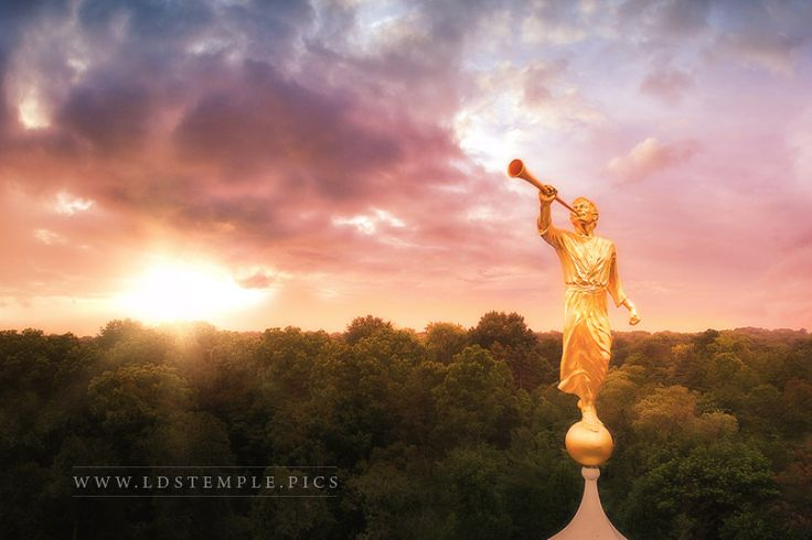 If you've seen a temple, you've probably seen a golden statue on top. That was the Angel Moroni. Have you wondered why he stands atop so many LDS temples?