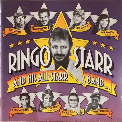 Ringo Starr And His All-Starr Band - Ringo Starr And His All-Starr Band…  EMI CDP 7 95372 2 - Enregistré les 3&4 septembre 1989 - Sortie le 8 octobre 1990  Note: 5/10