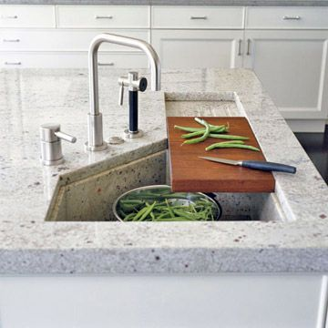 Best 25+ Deep Kitchen Sinks Ideas On Pinterest | Undermount Sink, Stainless  Farmhouse Sink And Large Kitchen Counters