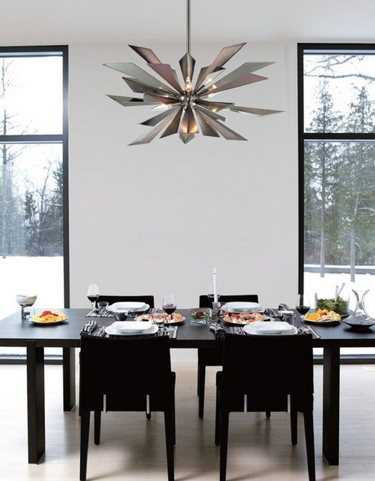 Crystorama Lighting | Galaxy Collection | Seven Light Chandelier · Dining  Room ChandeliersDining RoomsModern ...