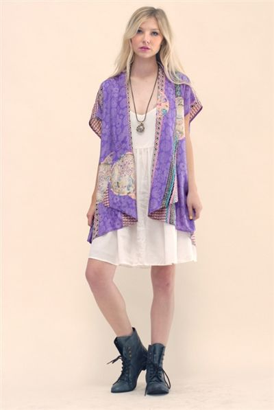Juniper Fields Kimono