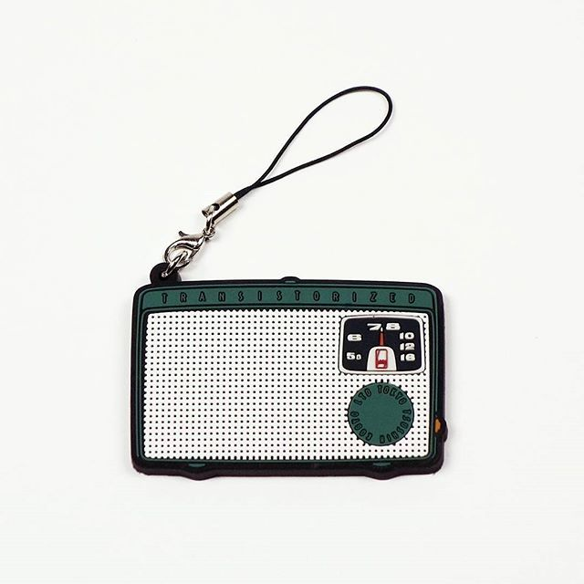 [It's a Sony展] 歴代プロダクトラバーストラップ Vol.1 : トランジスタラジオ TR-55(1955) #ginzasonypark #sonybuilding #sony #ginza #itsasony #rubberstrap