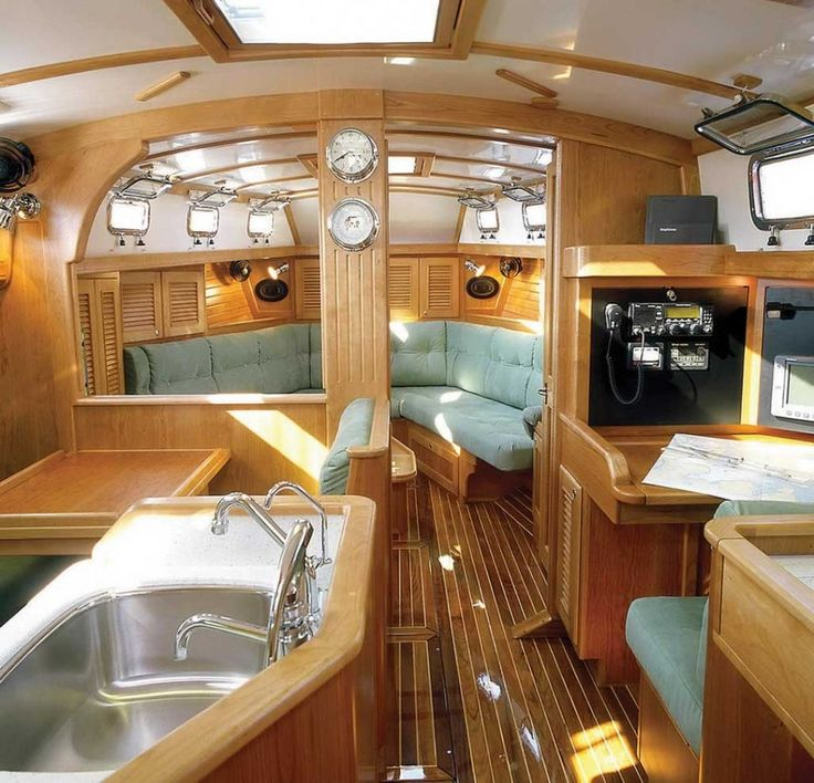 Home Interior, Boat Interior Design Ideas. Is It Luxurious