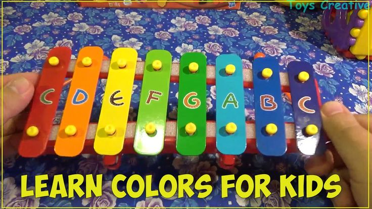 Learn Colors with Pounding Toy |  Teach Colours Baby, Toddler, preschool