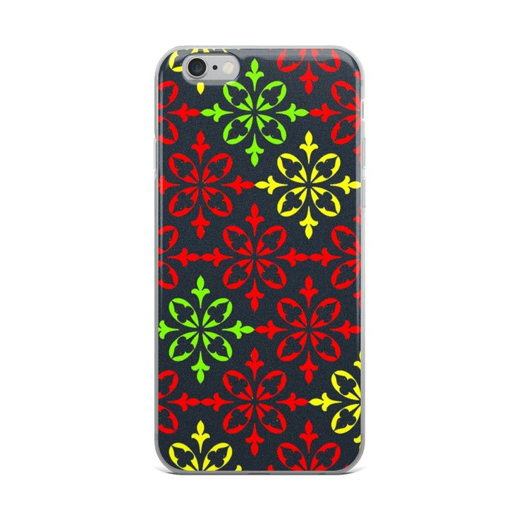 Excited to share the latest addition to my #etsy shop: Red Black iPhone X Case   Repetitive Pattern iPhone case   Colorful iPhone 6 case   Trendy iPhone 7 case   Geometry iPhone 8 case   TPU Case http://etsy.me/2op0lyt #accessories #case #cellphone #iphonexcase #repeti