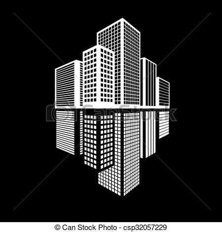 vecteur btiments icne bureau icne ensemble banque dillustrations