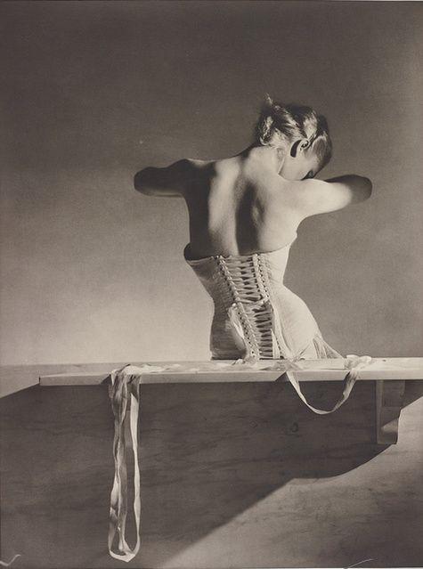 Horst P. Horst | Mainbocher Corset, Paris (1939) | Available for Sale | Artsy