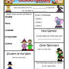This classroom newsletter template in WORD format is completely customizable.  2 full-color pages total are included The font used is Kristen ITC, ...