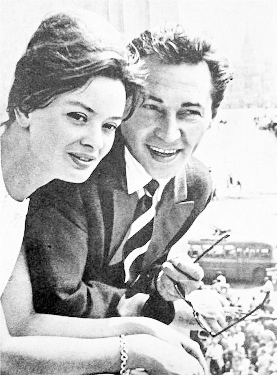 Jana Brejchová a Vjačeslav Tikhonov