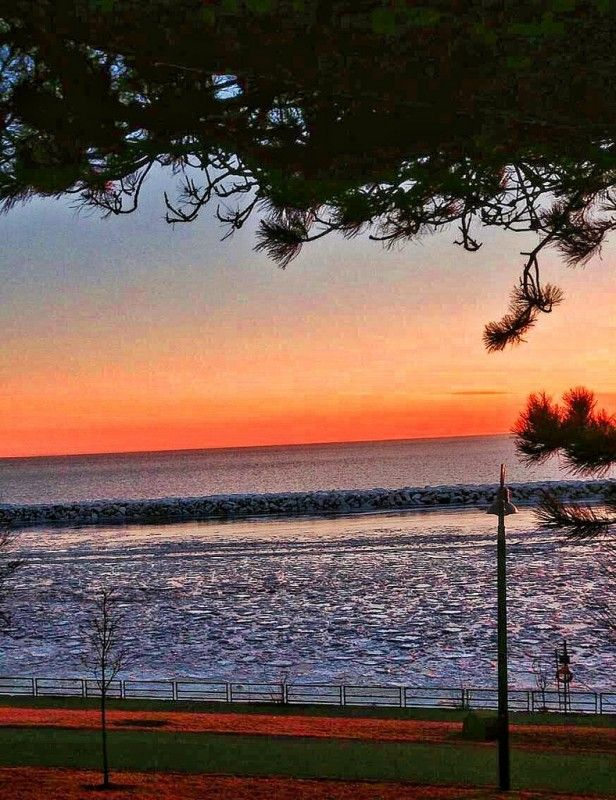 Toronto Ontario ~ Canada ~ Lake Ontario at Sunset Canada is a North American country stretching from the U.S. located��_