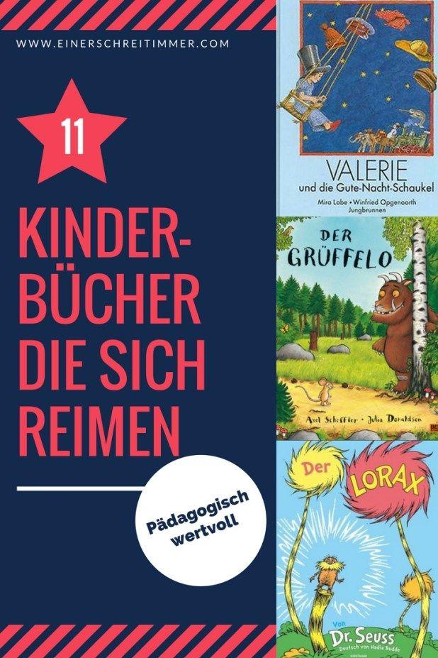 Kluge Reime sind die Königsdisziplin des Schreibens. Darum habe wir heute die elf besten Kinderbücher in Reimform für euch gesammelt. Sie sind allesamt klug, lustig und pädagogisch wertvoll!