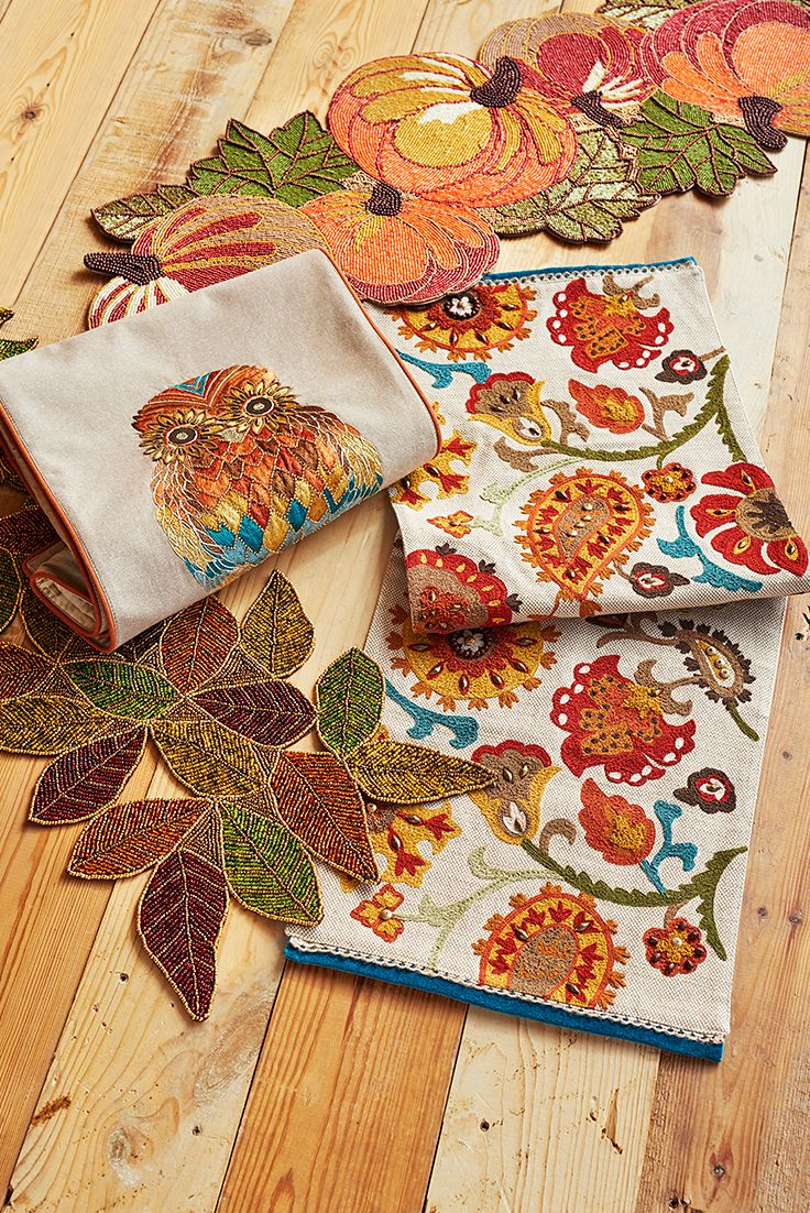 Get Ready For Fall Gatherings With A Pier 1 Table Runner In Autumns Favorite Shades Theyre Too Fun To Be Limited Your Dining