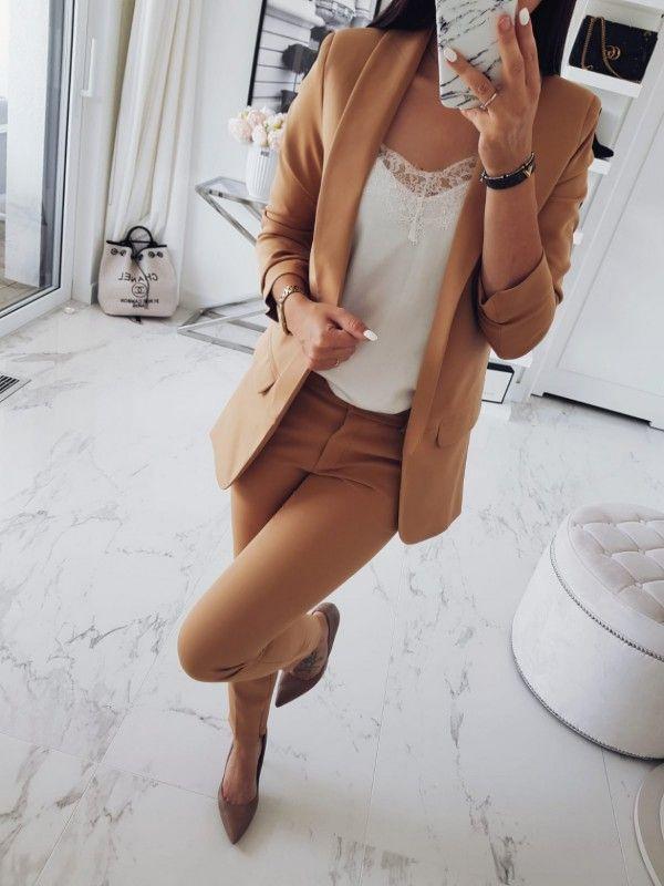 caefb602a0de5 Marynarka Zarka camel | Fashion | Fashion, Blouse i Sleeves