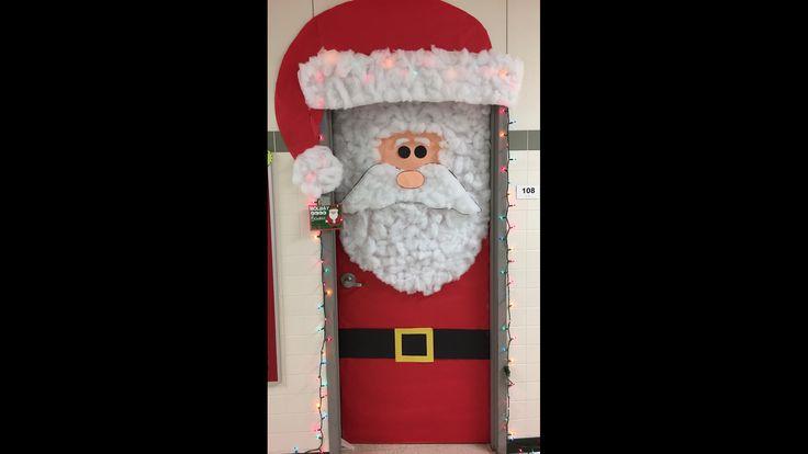 Zombie Christmas Door Decorations