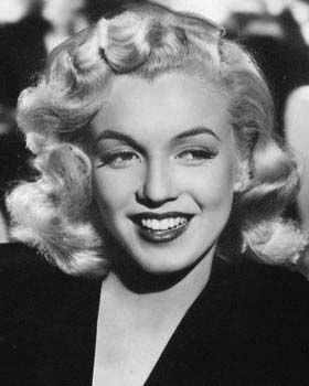 The very young Marilyn...so gorgeous.