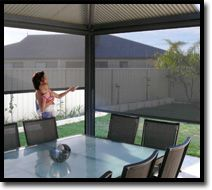 Motorised Blinds  Custom Made to suit your home's needs  Outdoor Shade Blinds Perth Australia Bozzy Shade Blinds