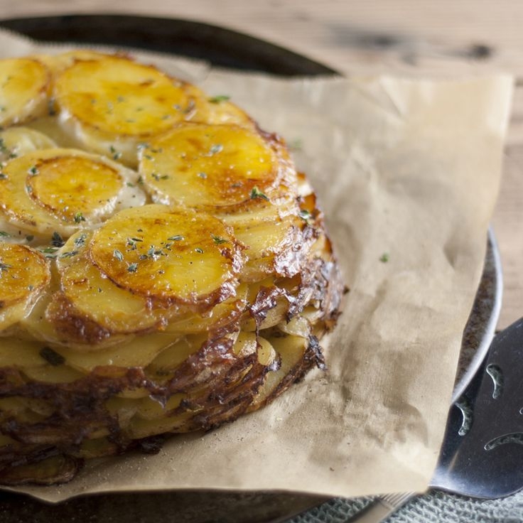 A truly rustic, French country dish, with its simplicity of ingredients and preparation, it can hold its own amidst any holiday spread.
