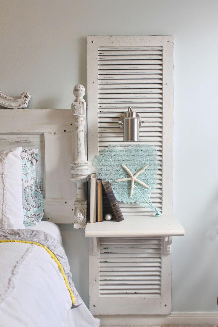 The ragged wren : Shabby-Beach Bedroom