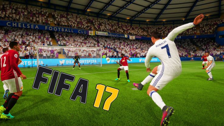 TEST MATCH REAL VS MANCHESTER - FIFA 17 DEMO