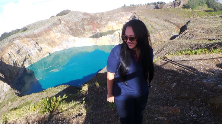 Kelimutu's Lake have a three colours as a reflection.. From Ende, East Nusa Tenggara is one of wonderful province of Indonesia ! (2013)
