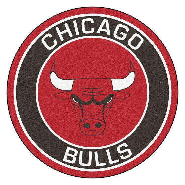 Chicago Bulls NBA Roundel Mat
