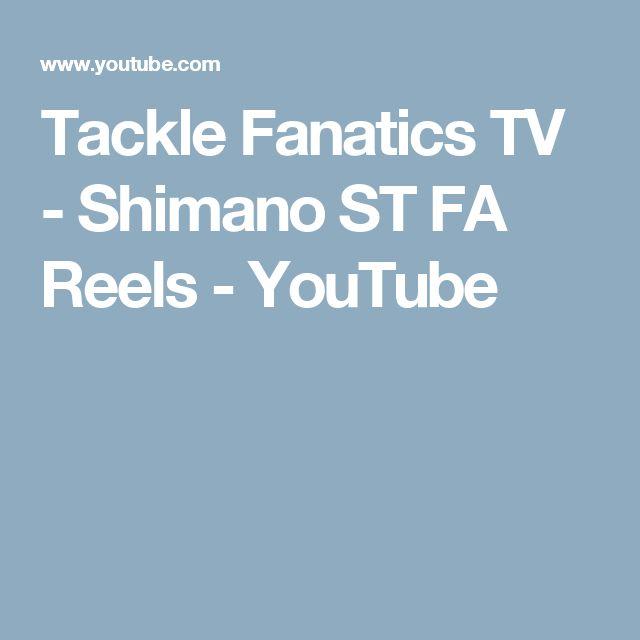 Tackle Fanatics TV - Shimano ST FA Reels - YouTube