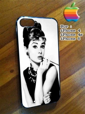 Audrey Hepburn iPhone Case And Samsung Galaxy Case Available for iPhone Case iPad Case iPod Case Samsung Galaxy Case Galaxy Note Case HTC Case Blackberry Case,were ready for rubber and hard plastic material, Ready for the new one iPhone 6