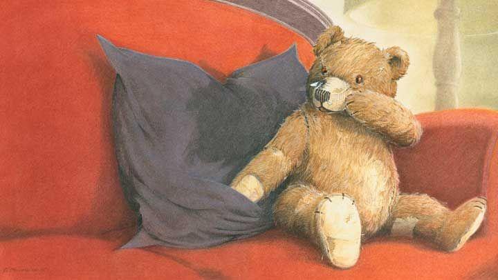 Bernhard Oberdieck  ILLUSTRATION Teddy and fly