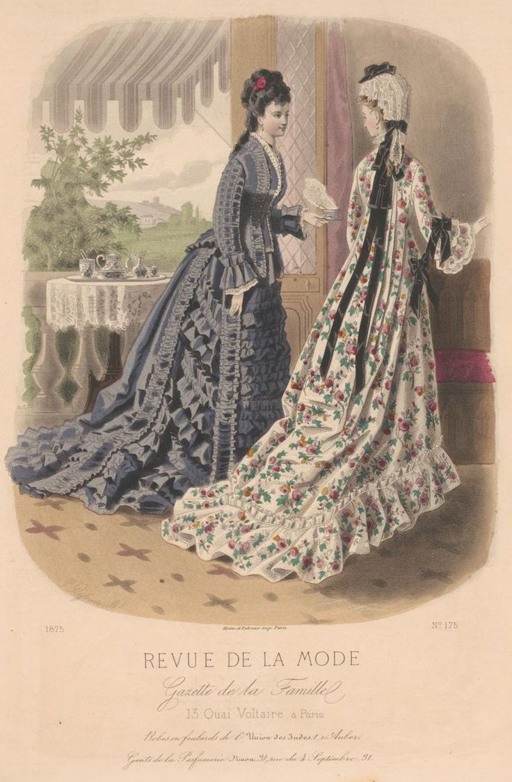 revue de la mode 1875 1875s fashion plates pinterest fashion plates 1870s fashion and. Black Bedroom Furniture Sets. Home Design Ideas