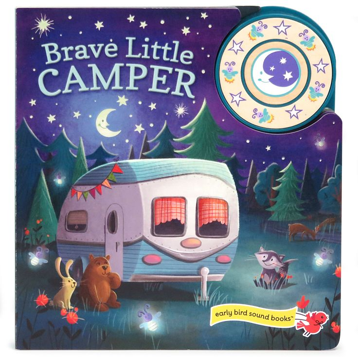 Babies and toddlers love sound books. Picture icons cue little ones to press the button and play the sound effects. Camping sounds add to the story-time fun.