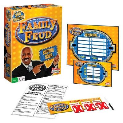Family Feud 5th Edition Survey Says… Game