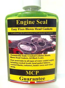 Head Gasket Sealer MCP Repairs Blown Head Gaskets Cracked Cylinder Blocks 500M | eBay