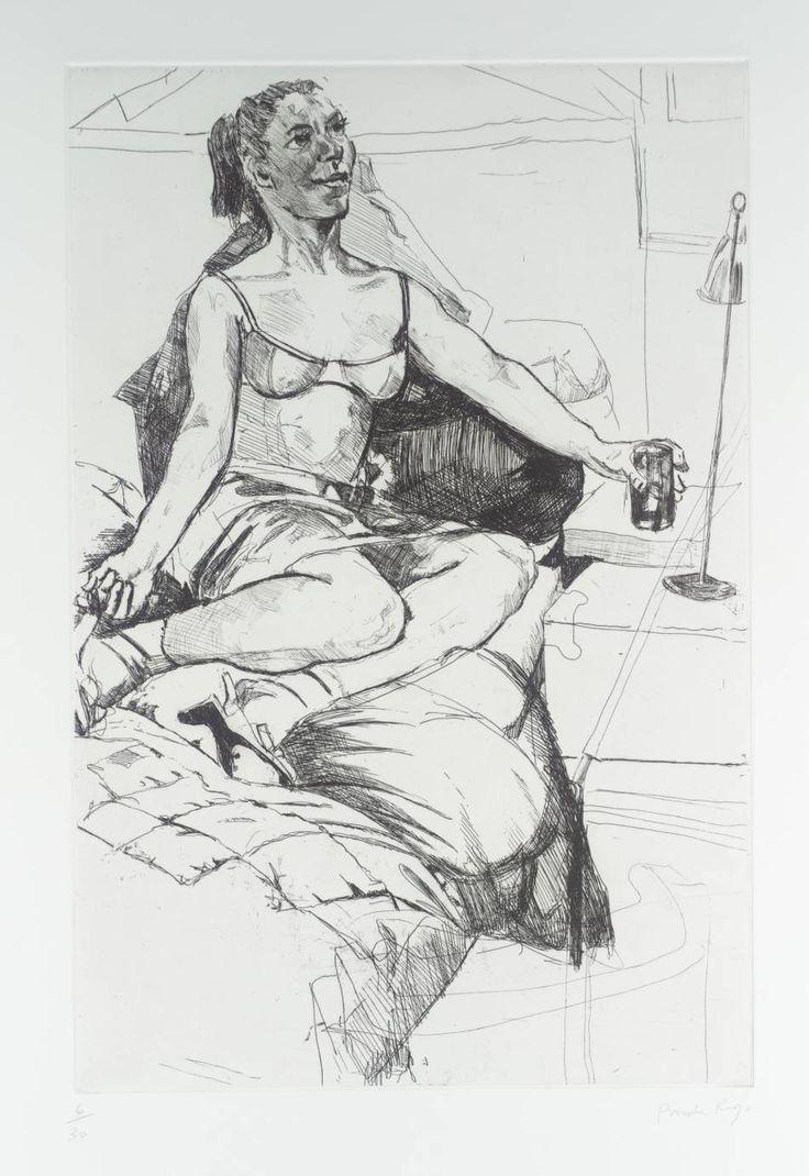 Paula Rego 'Pomagne', 1996 © Paula Rego