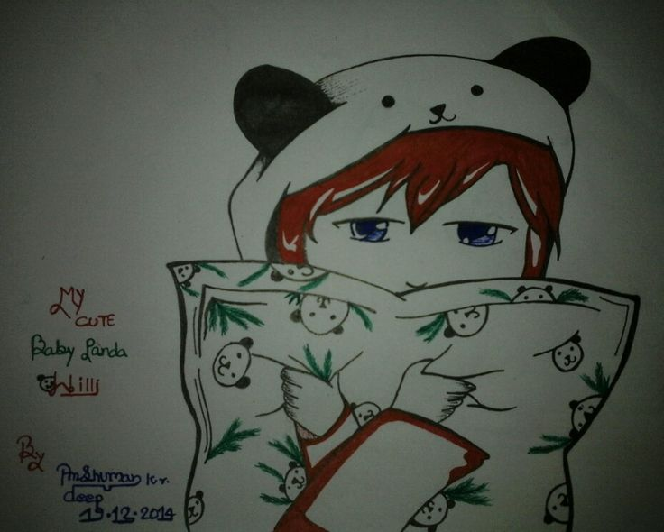 My Cute BABY PANDA WILLI..!! By Anshuman kr. deep