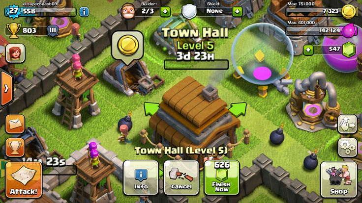 tai clash of clans cho android 2.3