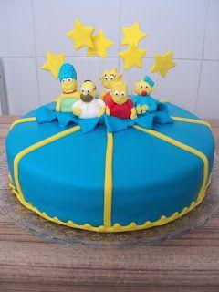 Chris Cakes Brasil: Bolo Simpsons