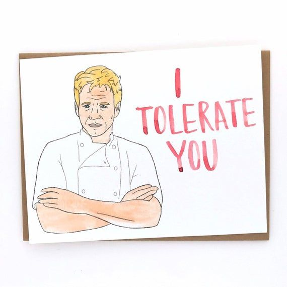 On Vacation Orders Will Resume 3 2 20 Gordon Ramsay Love Card In