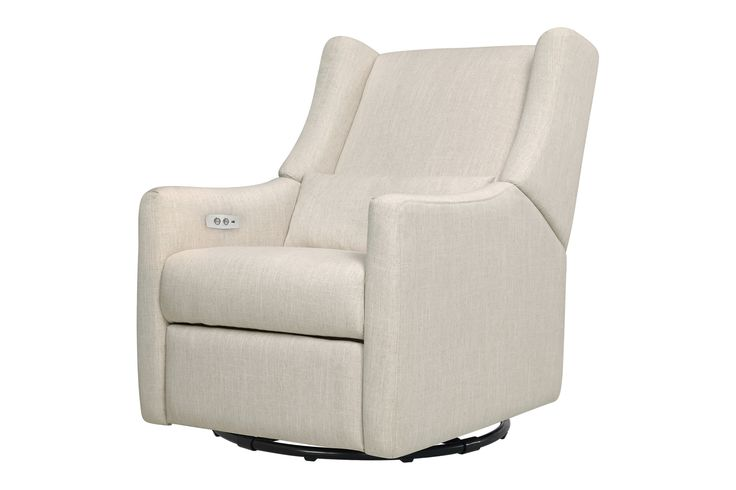 Kiwi Electronic Recliner and Swivel Glider - omg charge as you nurse!
