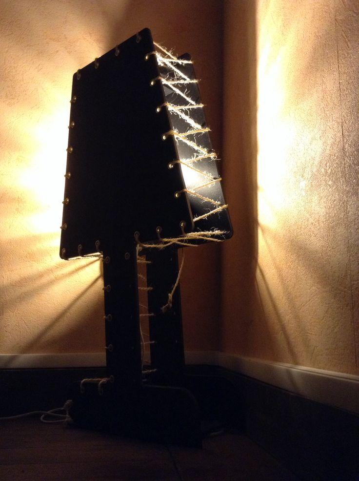 Lampe cousu