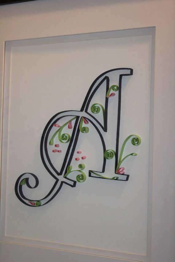 Pin By Kt On Quilling Letters Numbers Words Pinterest | Apps ...