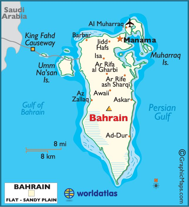 Bahrain - possibly the most dreary place on earth that has never ending sunshine